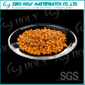 Manufacture Cheap Functional Plastic Orange Color Masterbatch
