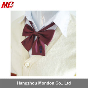 School Uniform with Packaging Box Dog Bow Tie for Girls pictures & photos