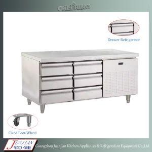 Kitchen Worktable Freezer Stainless Steel Worktable Refigerator Workbench Chiller pictures & photos