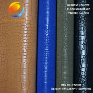 Garment PU Artificial Leather Faz X26 pictures & photos