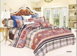 Poly/Cotton All Size High Quality Lace Home Textile Bedding Set pictures & photos