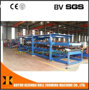 Sandwich Panel Making Machine China pictures & photos