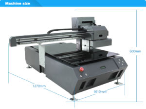 2017 A2 Size Large Format Flatbed Printer for Fabric Competitive Price pictures & photos