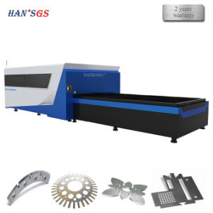 Steel Metal Fiber Laser Cutting Machine/High Quality Metal CNC Laser Cutter pictures & photos