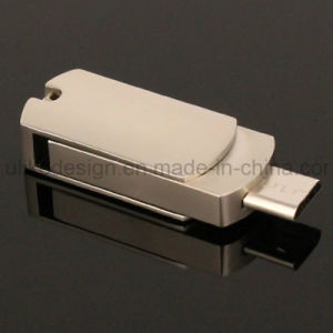 Metal Swivel/ Twist Ogt USB Flash Drive (UL-OTG018) pictures & photos