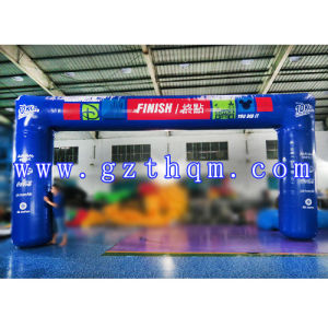 Inflatable Arch with Logo Printing/White Inflatable Arch for Advertisement pictures & photos