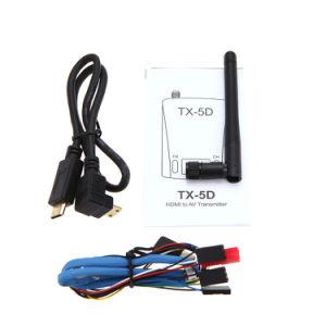 Tx-5D 5.8g 600MW 32CH HDMI Cvbs AV 7~24V Transmitter for Camon DSLR Camera pictures & photos