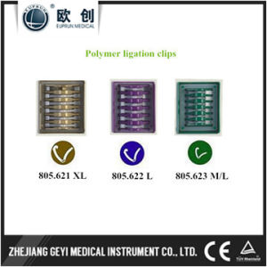 2017 Laparoscopic Hem-O-Lok Polymer Ligation Clips pictures & photos