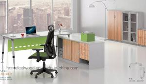Popluar Steel Leg Design Computer Executive Office Table (HF-BSA06) pictures & photos
