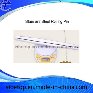 Wholesale Very Cheapest Price Stainless Steel Kitchen Accessories Rolling Pin pictures & photos