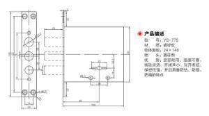 Zinc Alloy Material Door Lockbody (YS-775) pictures & photos