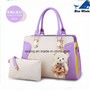 Fashion Trend Genuine Leather Promotional Handbag Leather Ladies Bag Women Handbag pictures & photos
