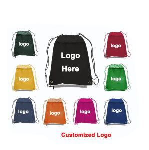 Drawstring Bag Sweatshirt Backpack School Gym Bag pictures & photos