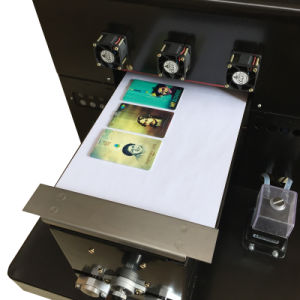 A4 Size Cheapest UV LED and 6 Colors Flatbed Printer for Golf/Pen/Phone/Case/PVC Card pictures & photos