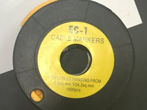 Cable Marker with Different Marks pictures & photos