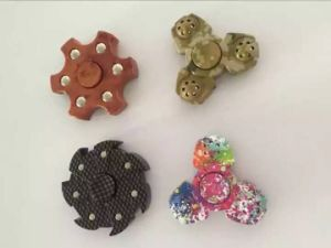 Colorfully Hand Spinner High Speed Truning at Stock pictures & photos