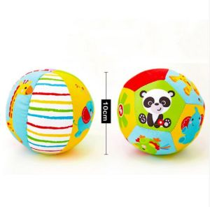 Soft Stuffed Toy Plush Baby Rattles Animal Ball pictures & photos