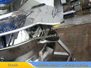 Stainless Steel Jacketed Kettle 300liter (SS304) pictures & photos