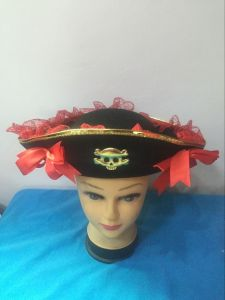 2017 Wholesale Good Quality Decoration Party Pirates Hat