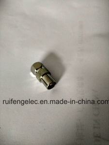 PAL Male to F Male TV RF Coaxial Adapter Connector pictures & photos