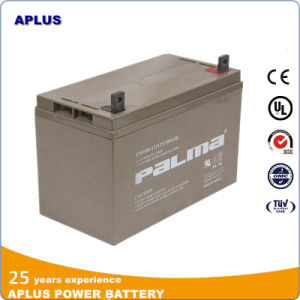 12V 100ah Sealed Medium Size VRLA Batteries for Electronic Appliance pictures & photos