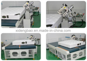 Wb-4A Auto-Flipping Tape Edge Machine pictures & photos