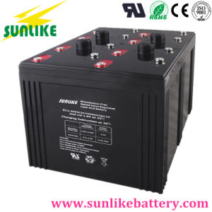 Rechargeable Deep Cycle Solar Battery 2V2500ah for Solar Home System pictures & photos