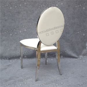 Wedding Party Hotel Infiniti Stainless Steel Dining Chair (YC-ZS48) pictures & photos