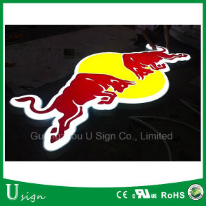 Logo Printing Acrylic Vacuum Forming LED Sign 3D Light Box pictures & photos