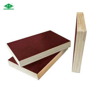 13mm, 15mm, 18mm, 20mm Melamine Glue Poplar Core Film Faced Plywood pictures & photos