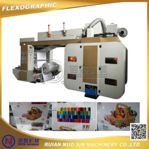 High Speed 4 Colours Flexographic Printing Machine (120m/min) pictures & photos