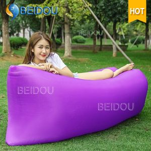Inflatable Camping Lounge Sleeping Beach Air Bed Inflatable Sofa Bed pictures & photos