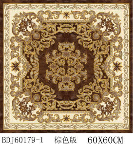 Fujian Carpet Tiles Crystal Flower in Stock (BDJ60179-1) pictures & photos