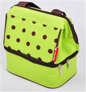 Banda Shape Green Spot Insulated Ice Cooler Bags pictures & photos
