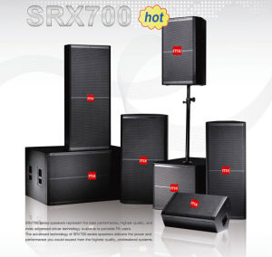 Srx700 Series High-Power Two Way PA Sound System Professional Speakers pictures & photos