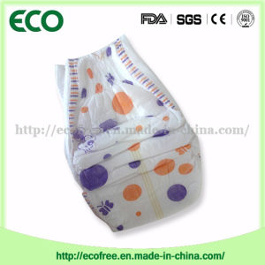 Absorbency & Breathable with Big Waist Band Ecofree Brand Disposable Baby Diaper pictures & photos