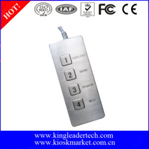 Desktop Mini Functional Keypad with USB Connector, Custom Layout Available
