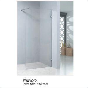 Walk-in Door Ground Glass Simple Shower Elclosure Door Screen pictures & photos