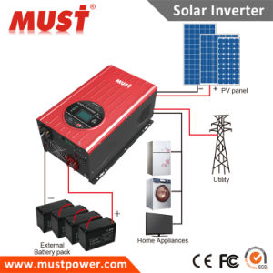 China Famour Brand Must Solar Inverter 1000W 2000W 3000W 4kw 5kw 6kw 8kw 10kw 12kw with MPPT Solar Charge Controller Inside for Industrial,Home Generators etc. pictures & photos