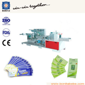 Bnt-300 Single Sheet Wet Wipe Making Machine pictures & photos
