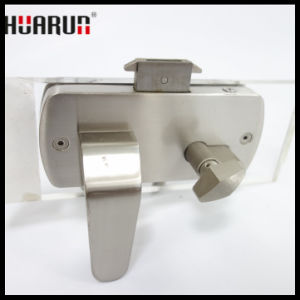 Stainless Steel Glass Door Handle Lock HR-1129A/HR-1129: pictures & photos