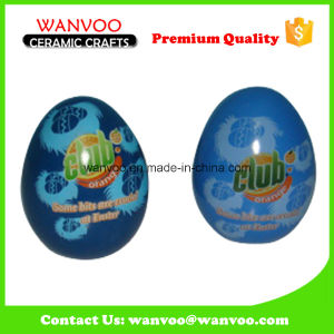 Home Decoration Ceramic Hand Printing Easter Egg for Holiday pictures & photos