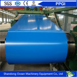 Prepainted Galvanized Steel Coils / PPGI Coils / Color Coated Steel Coils for Making Roof Material pictures & photos