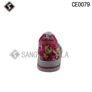 Canvas Shoes for Young Sports Canvas Leisure Walking Shoes pictures & photos