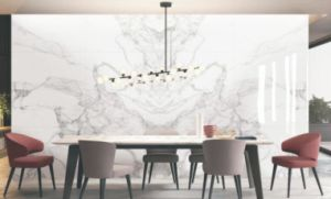 Calacatta Full Body Marble Flooring Tiles in China (PD1620101P/PD1620102P) pictures & photos