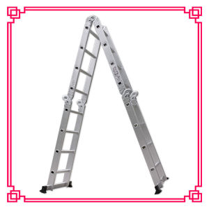 4*4 Steps Aluminum Multi-Purpose Ladder pictures & photos