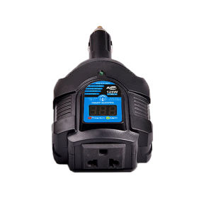 DC12V to AC110V 125W mini car power inverter with digital display pictures & photos