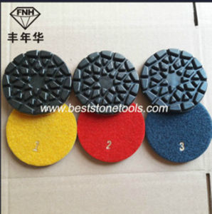 Resin Bond Sun Floor Diamond Polishing Pads for Concrete Grinding pictures & photos