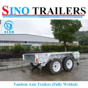 10X6 Dual Axle Tiling Trailer
