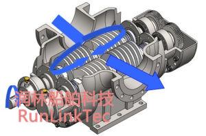 Stainless Screw Pump/Double Screw Pump/Twin Screw Pump/Fuel Oil Pump/2lb4-100-J/100m3/H pictures & photos